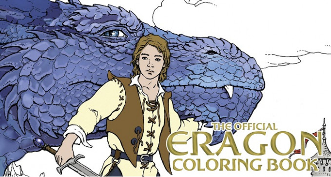 Christopher Paolini On the Official Eragon Coloring Book: Enter to Win!