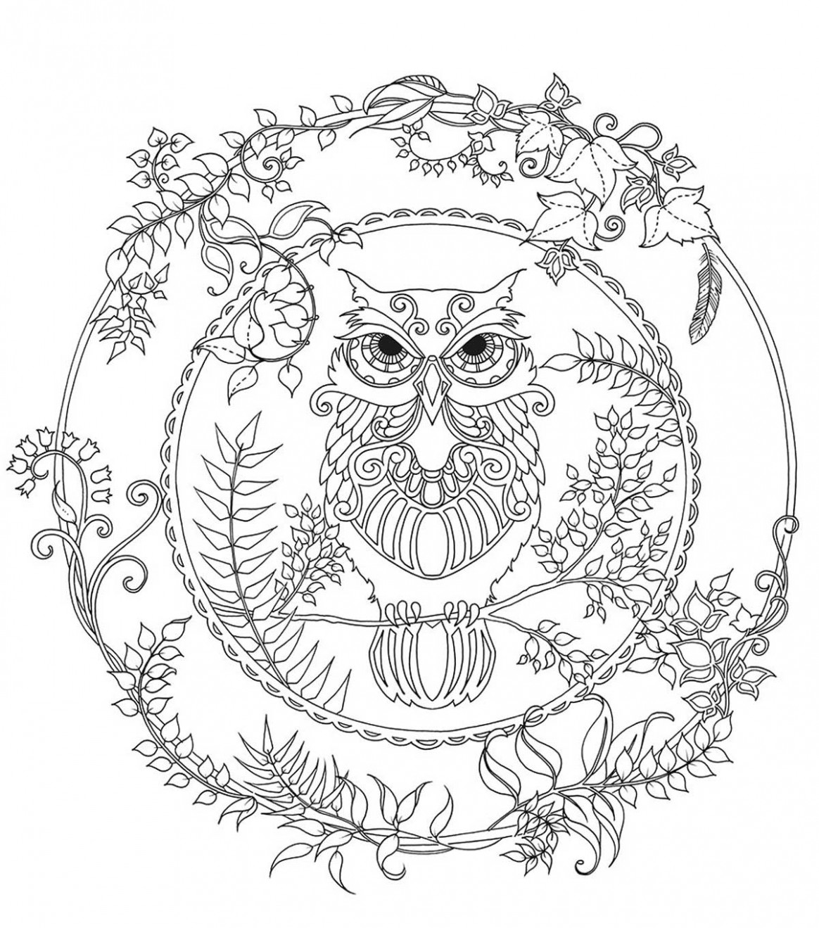 Chronicle Books Enchanted Forest Coloring Book | JOANN