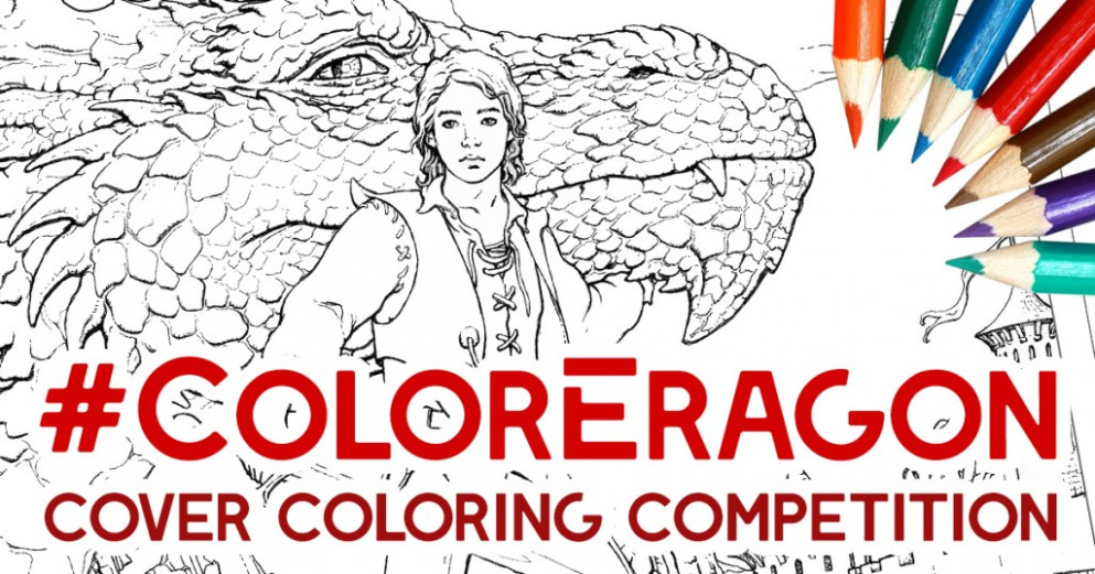 Color in the Official Eragon Coloring Book cover and win your own ...