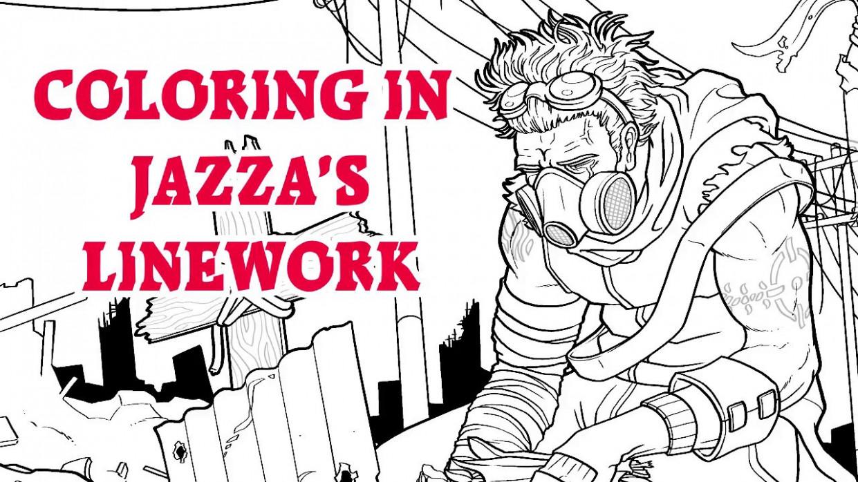 COLOR OF LOSS – Coloring in Jazza's Picture – YouTube – jazza coloring book