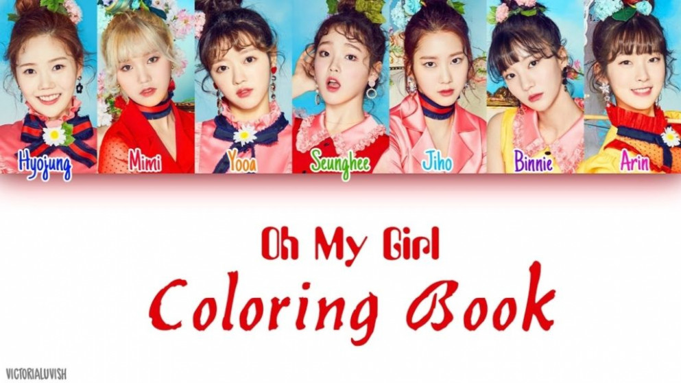 Colorful Coloring Book Lyrics Photos Framing Coloring Pages My ...