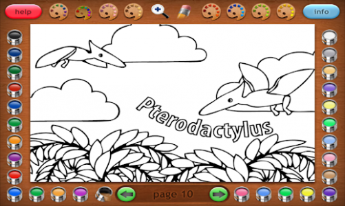 Coloring Book 20 Lite: More Dinosaurs – Apps bei Google Play