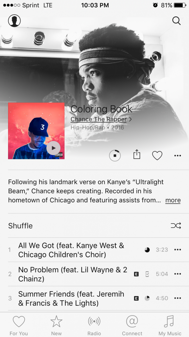 Coloring Book Chance The Rapper Itunes Version | Coloring Pages – itunes chance the rapper coloring book