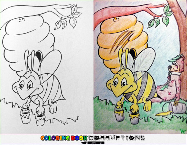 Coloring Book Corruptions Part 14 – 14 Pics | WeKnowMemes - meme coloring book