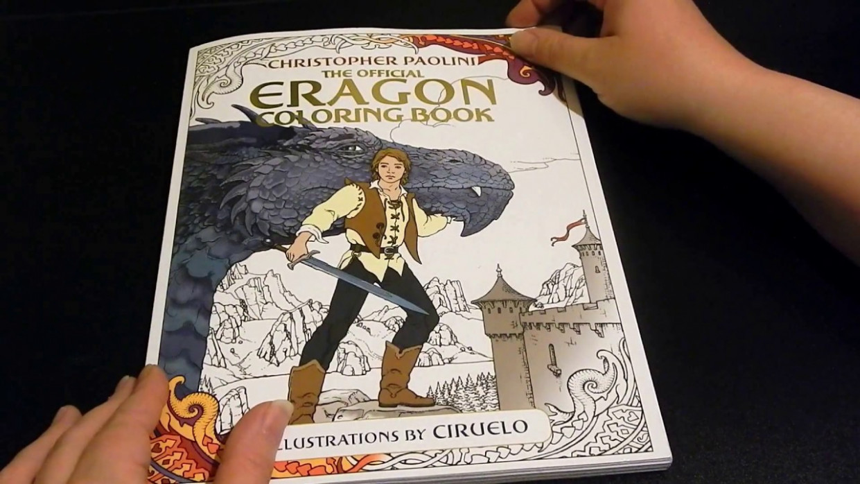 coloring book flip through – The Official Eragon Coloring Book – YouTube – eragon coloring book