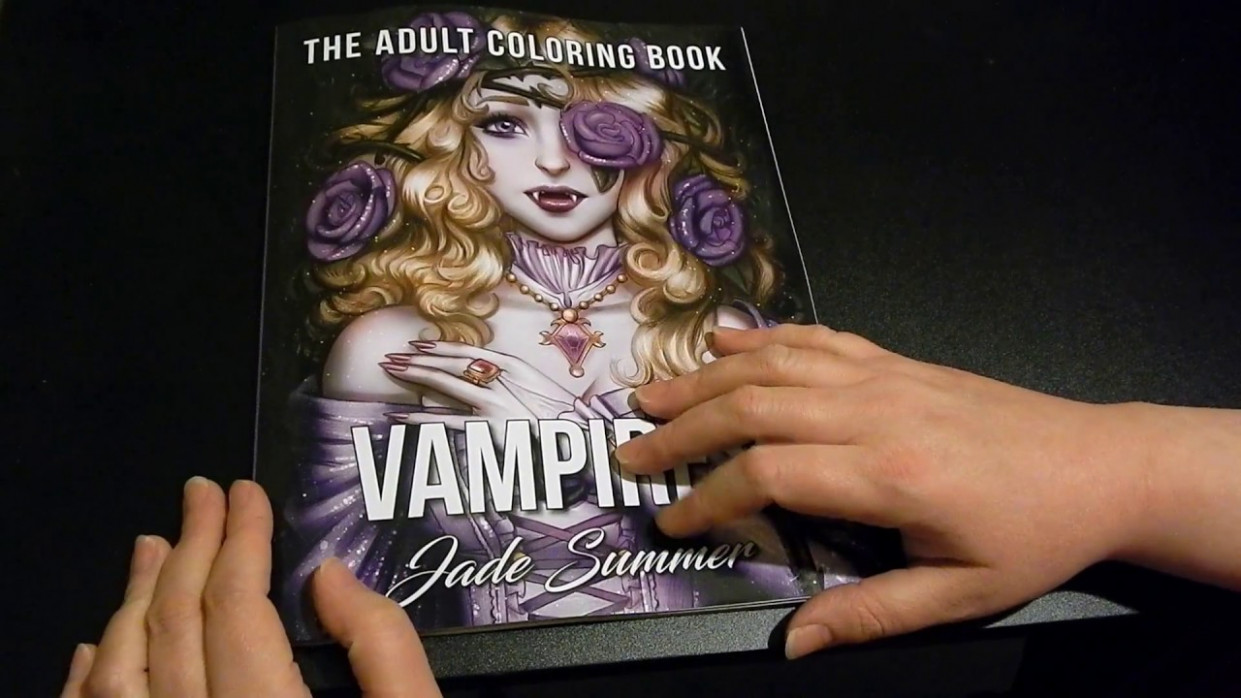 coloring book flip through – Vampires by Jade Summer – YouTube – jade summer coloring book