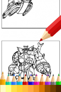 Coloring Book for Hero Rangers – Apps bei Google Play