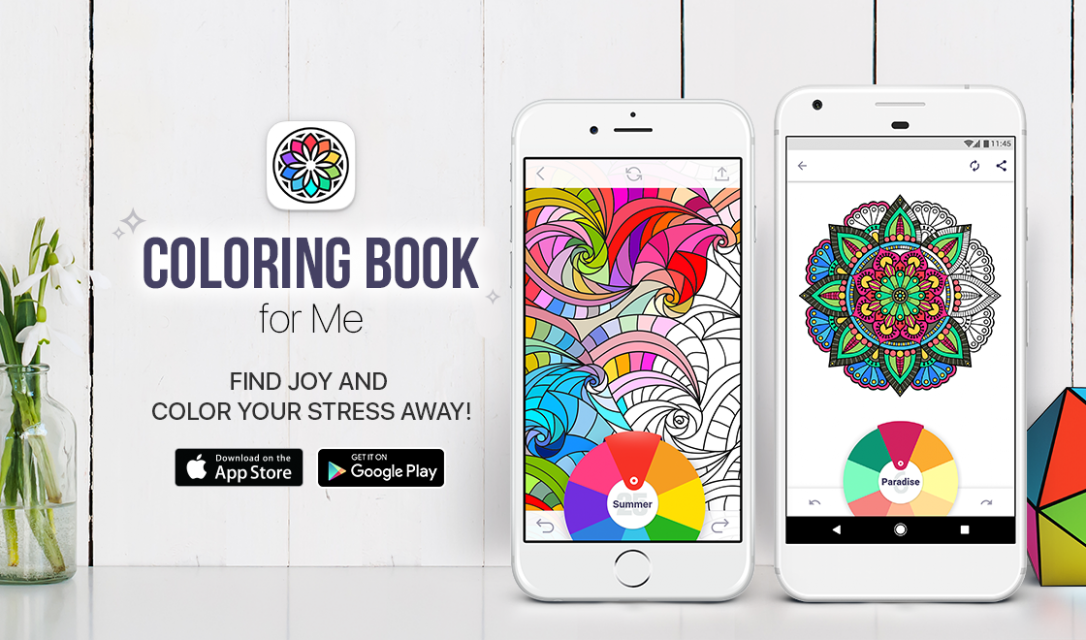 Coloring Book for Me | Apalon – app coloring book