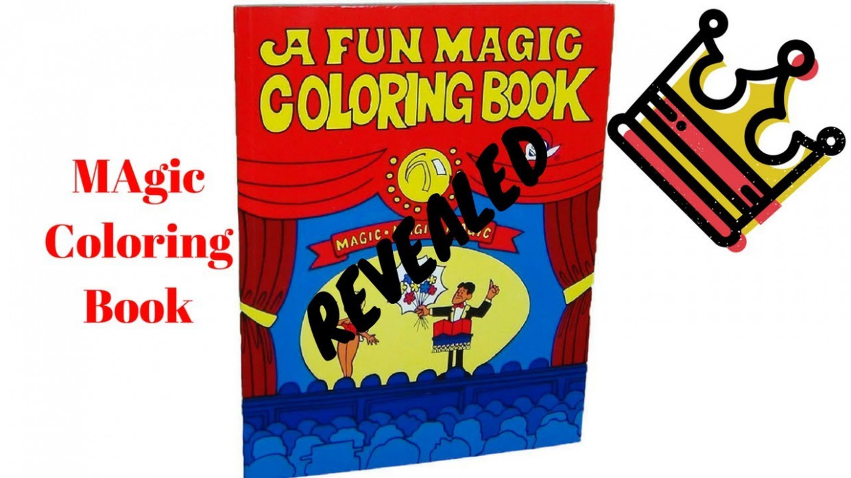 Coloring Book Magic Revealed – YouTube – eddie redmayne magic coloring book