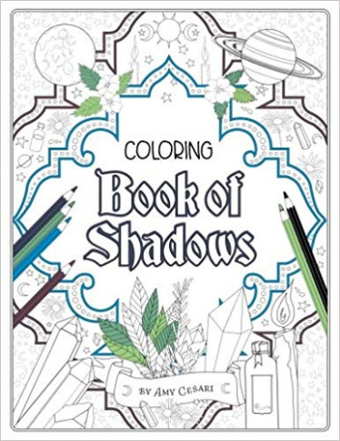Coloring Book of Shadows: Amy Cesari: 15: Amazon.com: Books