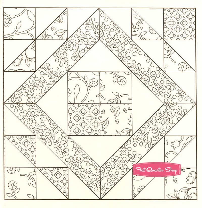 Coloring Book Quilt Patterns | Coloring Pages