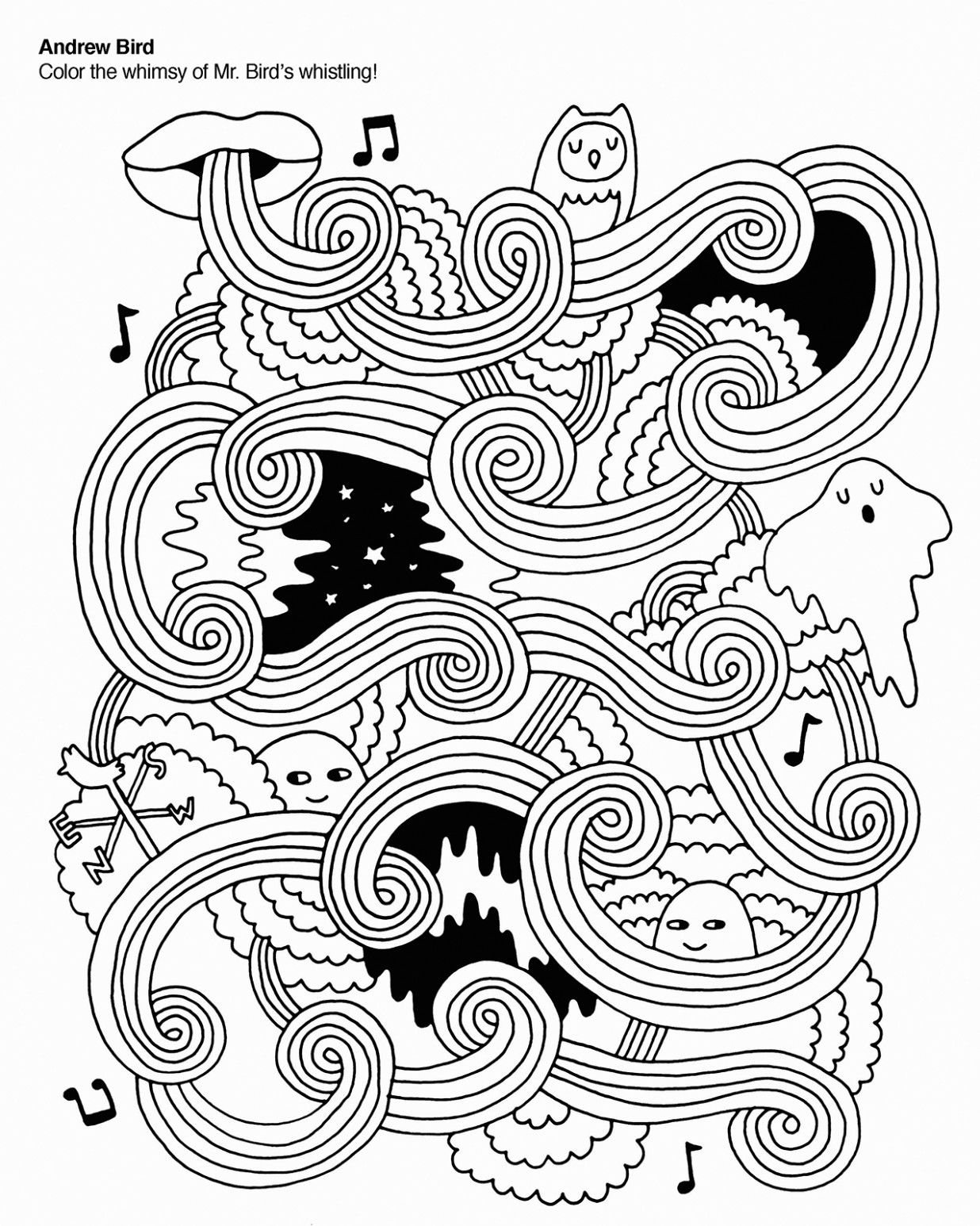 Coloring Books for Grown-ups: 18 Free Pages to Print – Chronicle ..