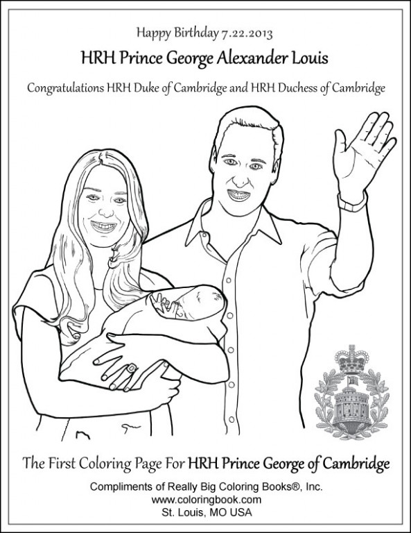 Coloring Books | George Alexander Louis Free Coloring Page – queen elizabeth coloring book