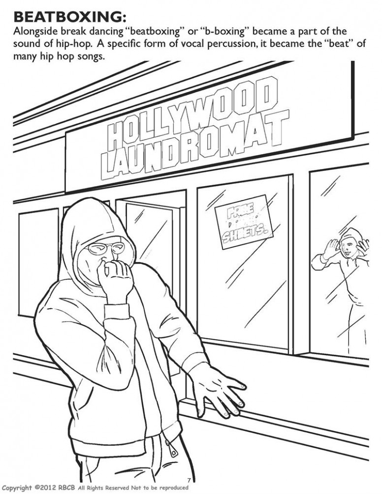Coloring Books | Hip Hop Gangsta Rap Coloring Book – gangsta rap coloring book