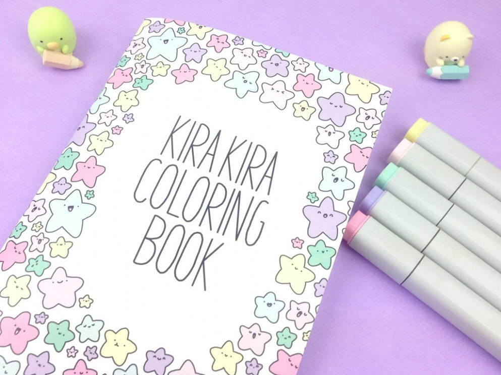 Coloring Books – KiraKiraDoodles – kira kira coloring book