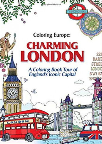 Coloring Europe: Charming London: Il-Sun Lee: 17: Amazon ..