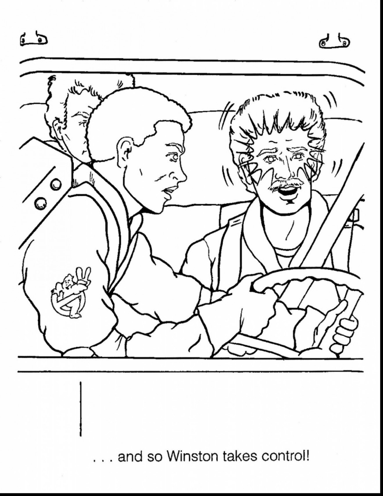 Coloring Pages. Ghostbusters Coloring Book – Liandola