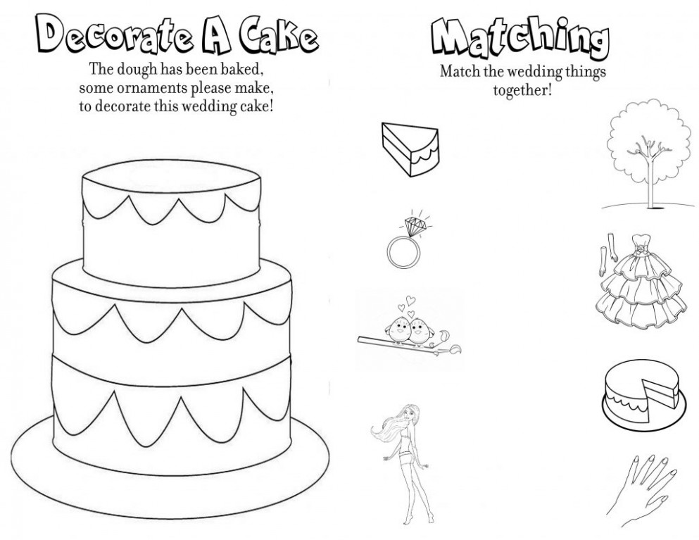 Coloring Pages. Personalized Wedding Coloring Books For Kids ..