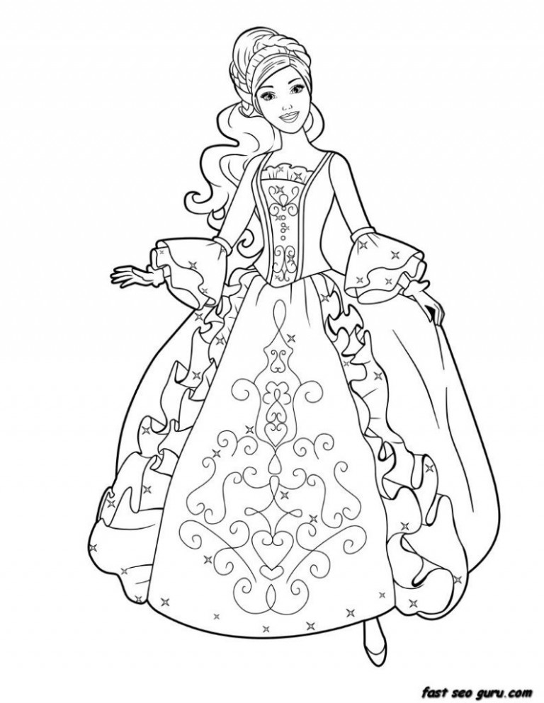Coloring Pages: Photo Barbie Coloring Book Images Barbie Coloring ..