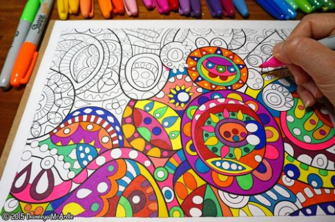 Coloring: Printable E-Books, Published Adult Coloring Books and a ...