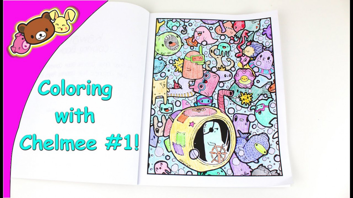 Coloring with Chelmee #19 – Kawaii Coloring Book – Under the Sea ..