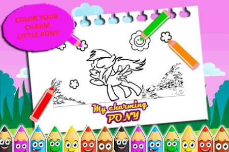 ColorMe - Little Charm Pony Coloring Book for Kids – Apps bei Google ...