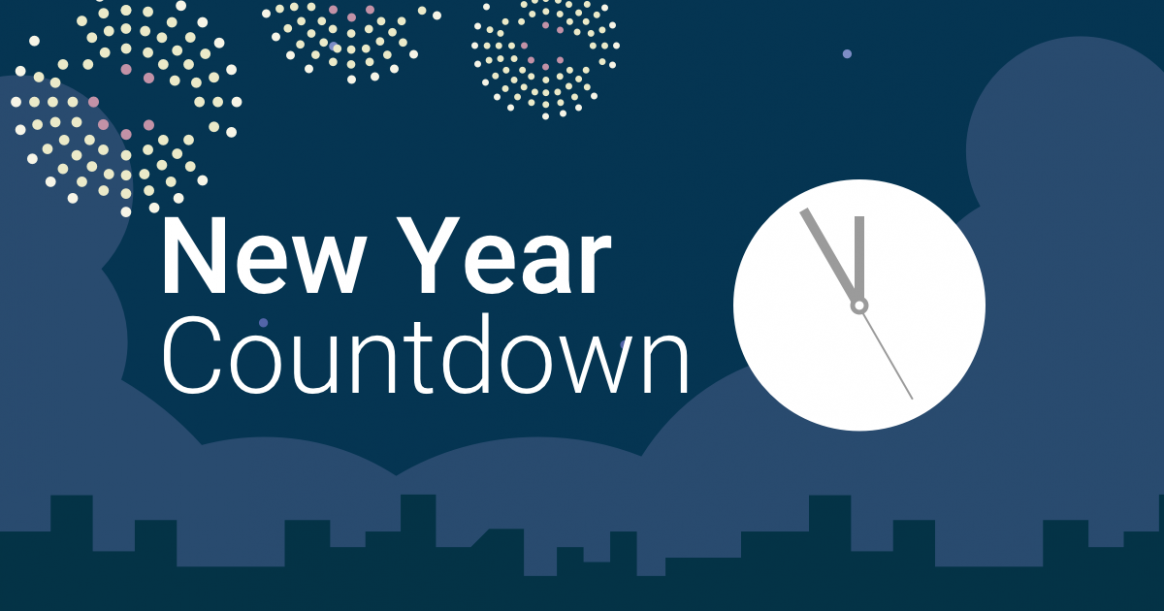 Countdown to New Year 20 in New York - Year 2019 Calendar New Zealand
