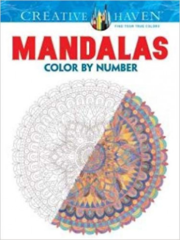 Creative Haven Mandalas Color by Number Coloring Book Creative Haven ..
