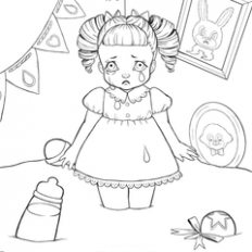 Cry Baby Coloring Book | Melanie Martinez Wiki | FANDOM powered by Wikia – cry baby coloring book