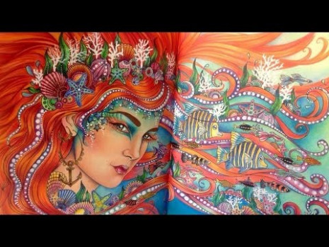 DAGDRÖMMAR (DAYDREAMS) Coloring Book by Hanna Karlzon - All Pages ...