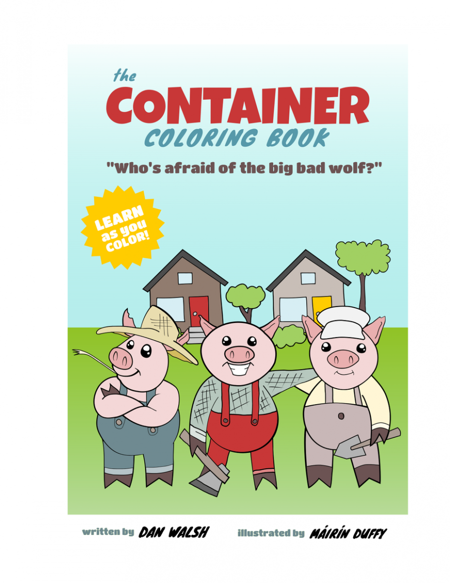 """Daniel Walsh on Twitter: """"Here you go. Container Coloring Book https .."""