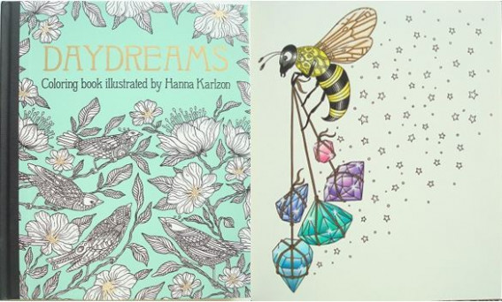 Daydreams Coloring Book (Dagdrömmar)– A Review | Colouring In The ...
