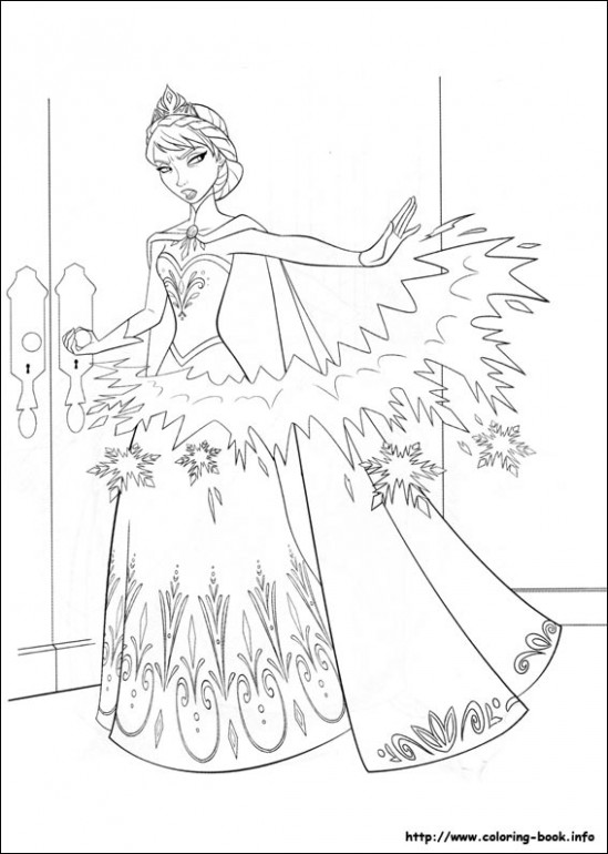 Disney Frozen Coloring Book Info | Coloring Pages