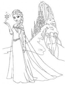 disney frozen coloring pages - Free Large Images | Entertainment ...
