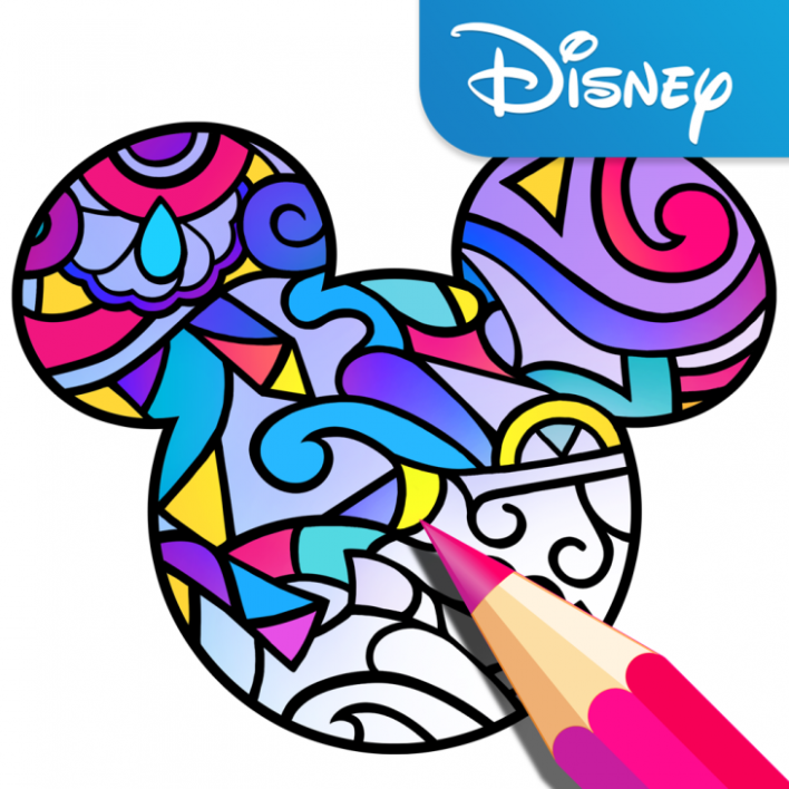 Disney launches its own adult coloring book app | TechCrunch – app coloring book
