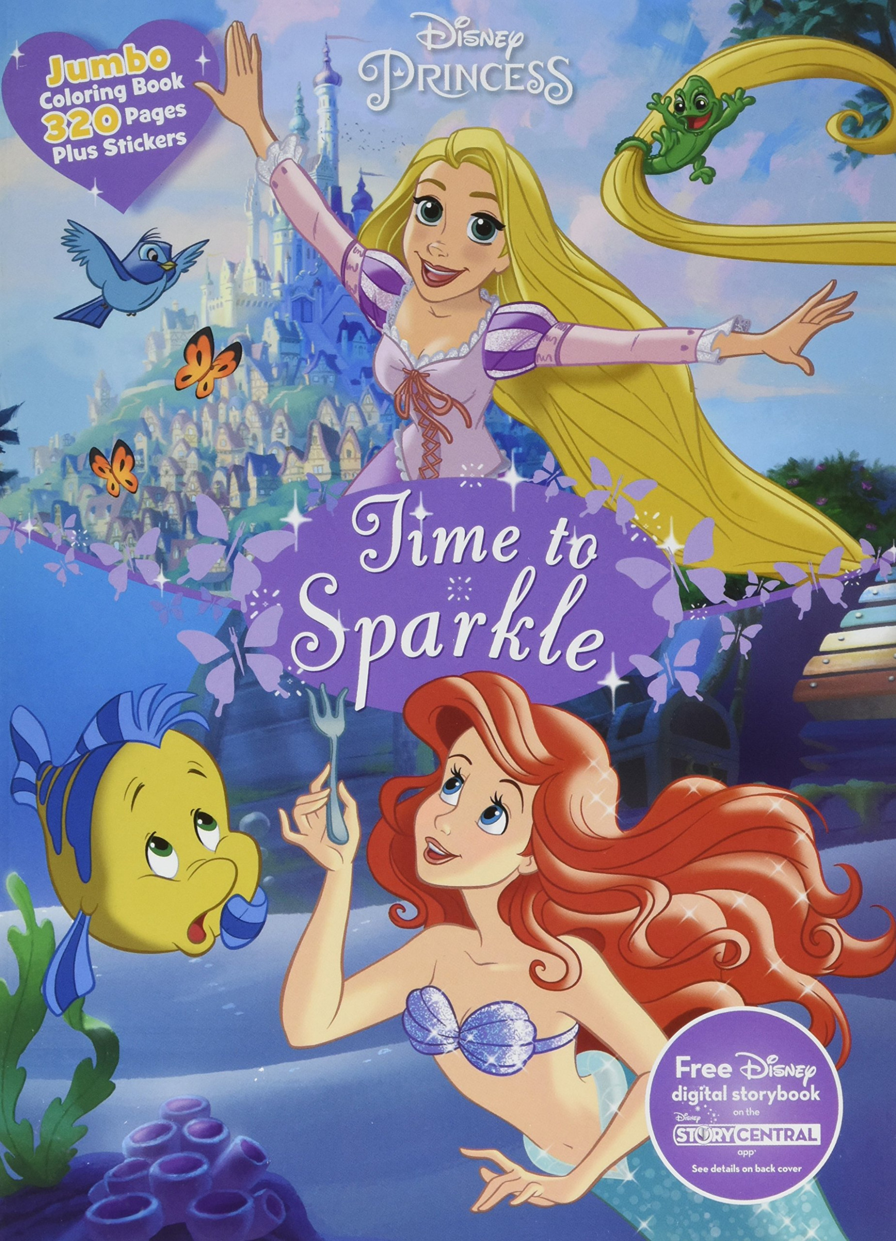 Disney Princess Jumbo Coloring: Parragon Books Ltd: 16 ..