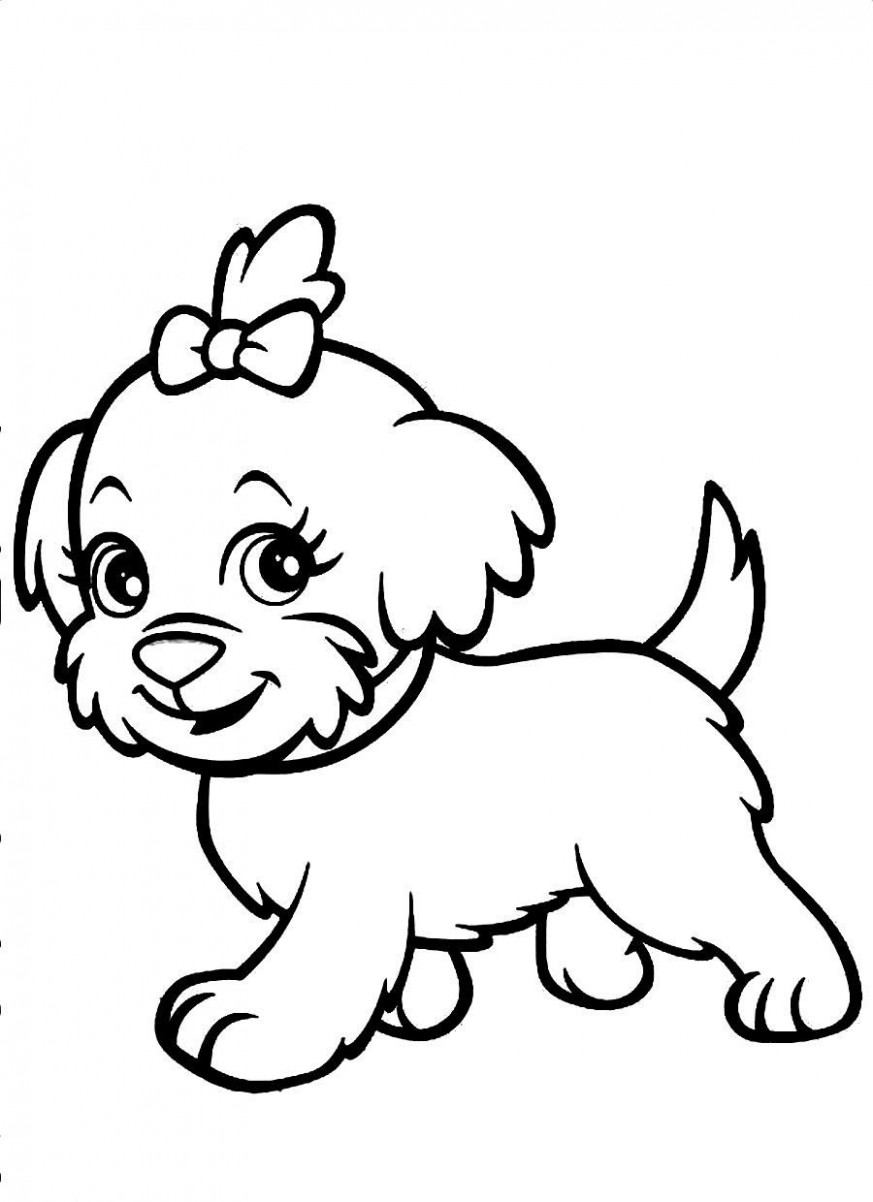 Dog Coloring Book #19