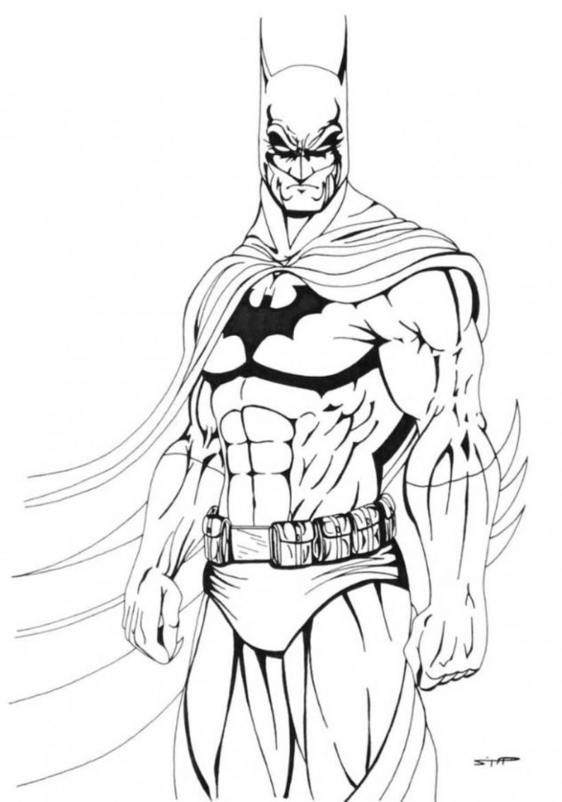Download and Print Cool Batman Coloring Pages | For the Boy ...