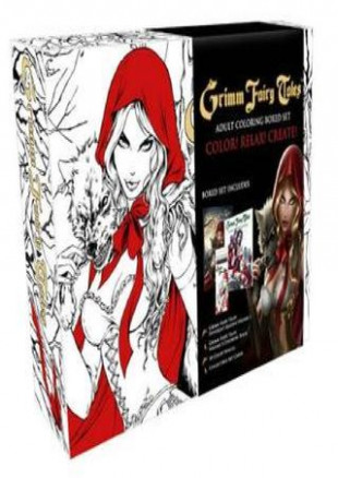DOWNLOAD BOOK Grimm Fairy Tales Coloring Book Box Set by Urub - issuu