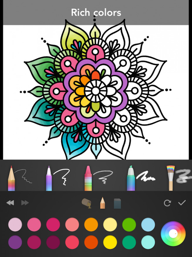 Download Colorfy Coloring Boo Amazing Coloring Book App For Adults ...