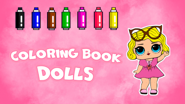Download Coloring Book Dolls APK latest version app for android devices - unicorn number coloring book android