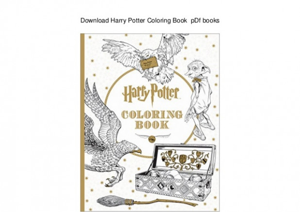 Download Harry Potter Coloring Book pDf books