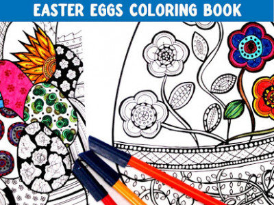 Easter Eggs Coloring Book Free – Apps bei Google Play