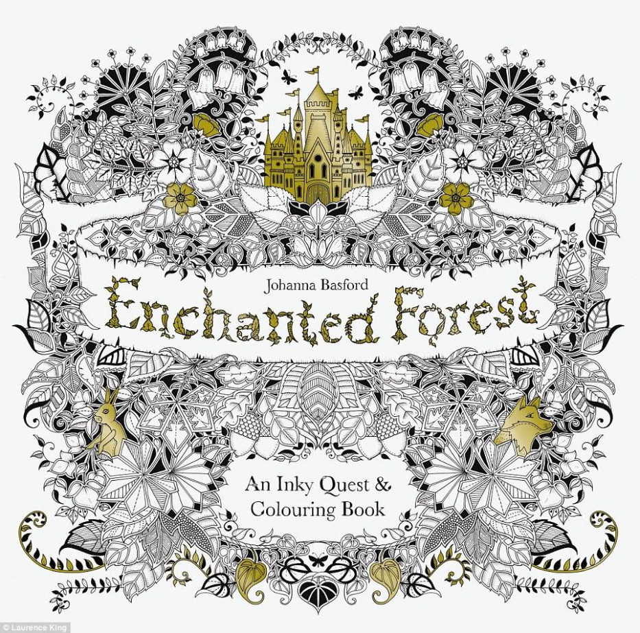 Enchanted Forest Coloring Book – enchanted forest coloring book