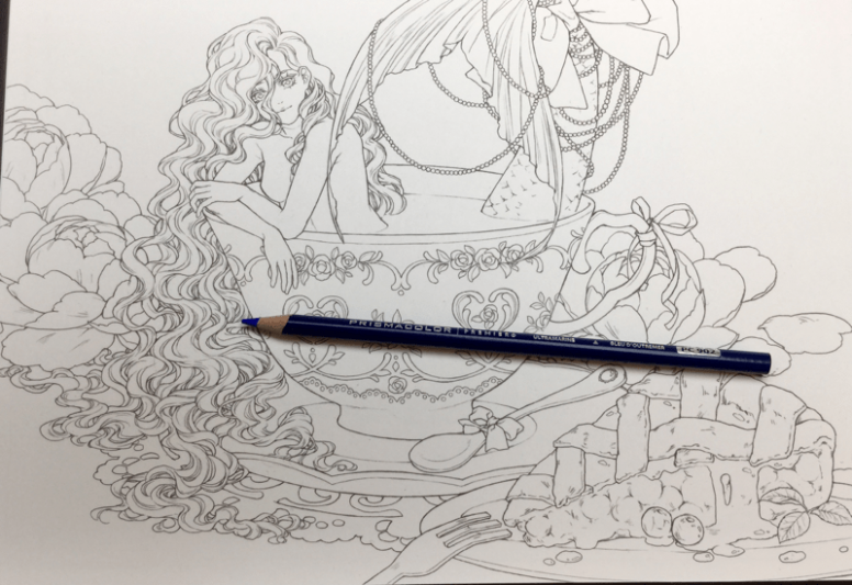 Etheria Coloring Book Review | Arts | Pinterest | Coloring books ...