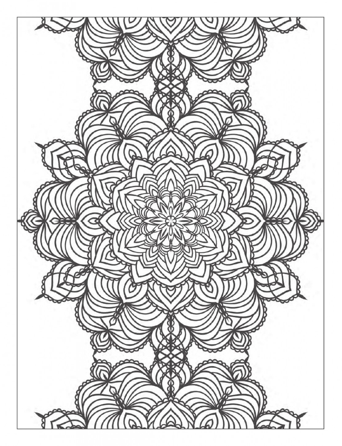 Excellent Meditative Coloring Pages Yoga And Meditation Book For ..