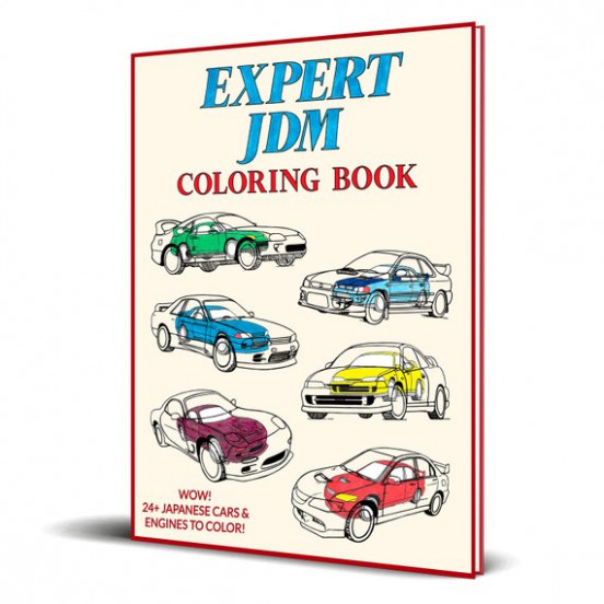 Expert JDM Coloring Book | Etsy – jdm coloring book