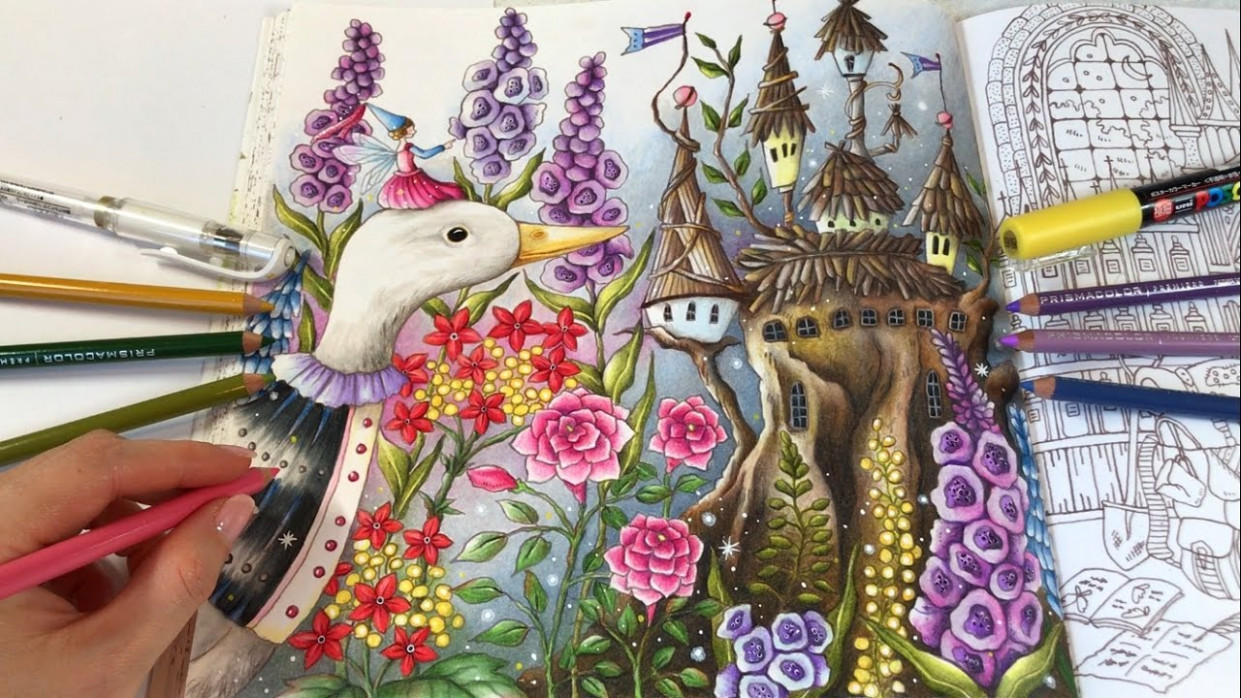 Fairy World – Part 14: Romantic Country The Second Tale Coloring Book ..