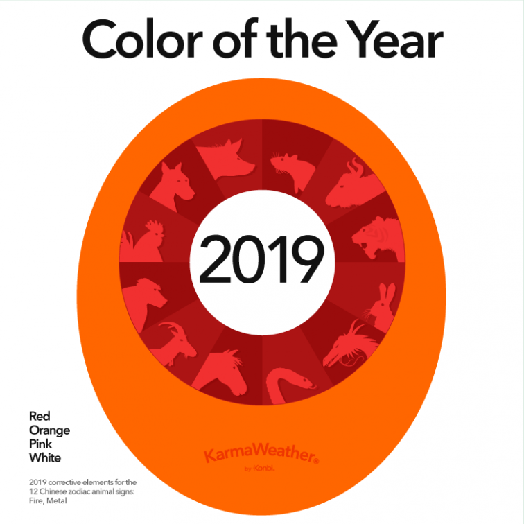 Feng Shui 16 - Lucky colors for 16, Year of the Pig