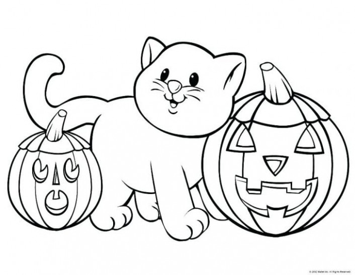 FREE Halloween Coloring Pages for Adults  – halloween coloring book